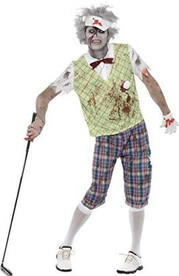 Smiffys Mens Zombie Golfer Costume Tag a friend who can pull this off! #Zombie #Halloween #Costume