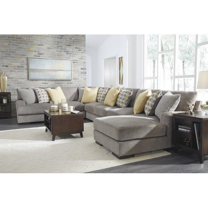 Hephzibah Reversible Sleeper Sectional   Sectional sofa ...