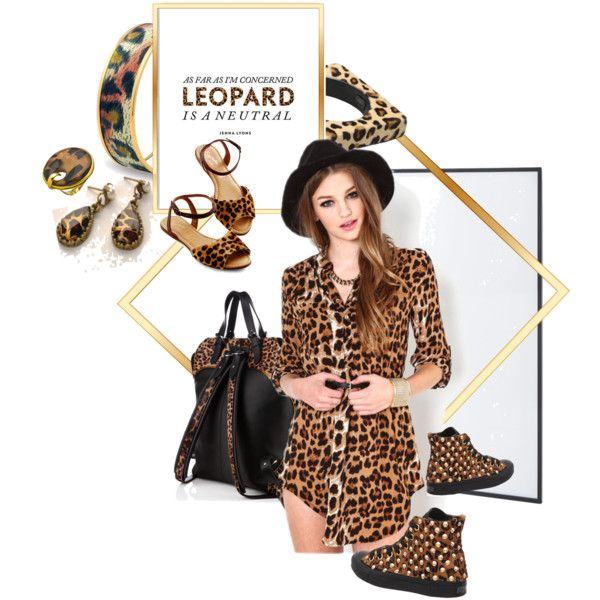 """Spot-On: Leopard Print"" by betiboop8 on Polyvore"