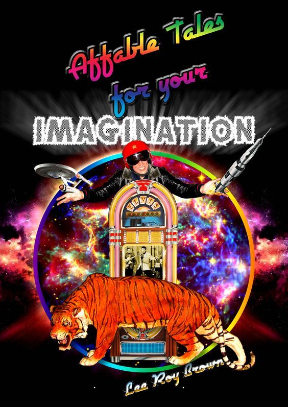 """My name is Lee Roy Brown, a Digital POP Artist, who came to live and work in London, United Kingdom, to fulfil his dream and here it is vividly presented, ESPECIALLY for you, FULLY realised in """"Affable Tales for Your Imagination"""". Please CLICK this Link for Your SPECIAL Preview... https://payhip.com/b/0BeZ"""