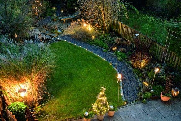 """Beleuchtung im Garten - """"Grosse Ideen für kleine Gärten"""" von Victoria Wegner. ©Marion Nickig"""