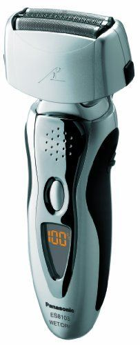 Panasonic ES8103S Arc3 Mens Electric Shaver WetDry with Nanotech Blades 3Blade Cordless with Flexible Pivoting Head * Want to know more, click on the image.