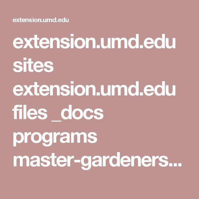 extension.umd.edu sites extension.umd.edu files _docs programs master-gardeners Montgomery Organic%20Pest%20Control%20by%20Diyan%20Rahaman.pdf