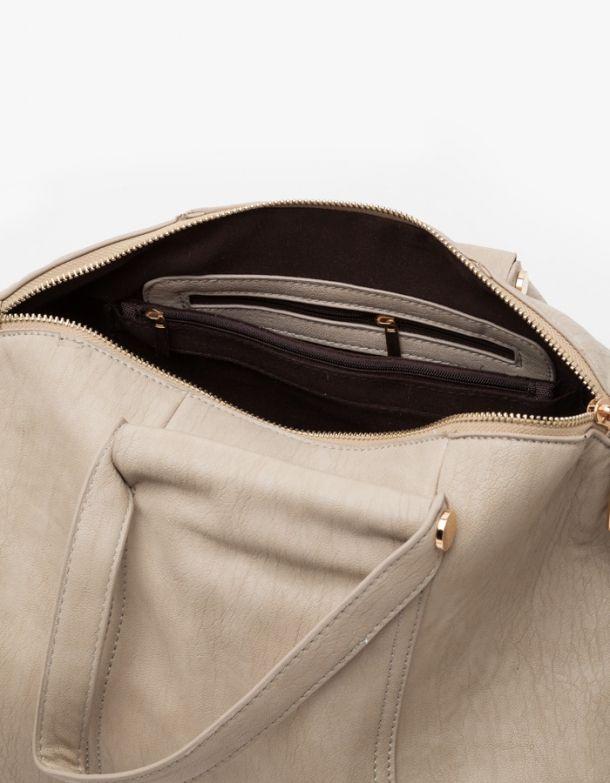 Imogen Duffle Bag In Grey