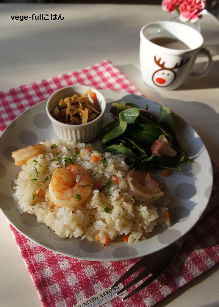 プリプリ☆エビピラフ by 楠みどり   レシピサイト「Nadia   ナディア」プロの料理を無料で検索
