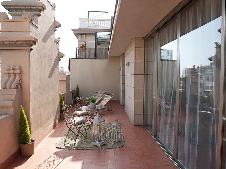 Luxury apartment rambla catalunya bertas penthouse luxury apartment in barcelona close the pedrera from antonio gaudi with one bedroom