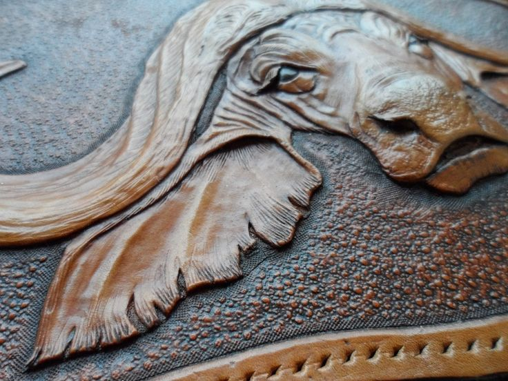 Learn sheridan style leather carving