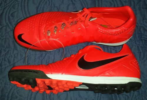 491372bb546 Nike LIBRETTO III TF Ctr360 Indoor Soccer Turf Shoes Mens 8 Red 525169 600  for sale online