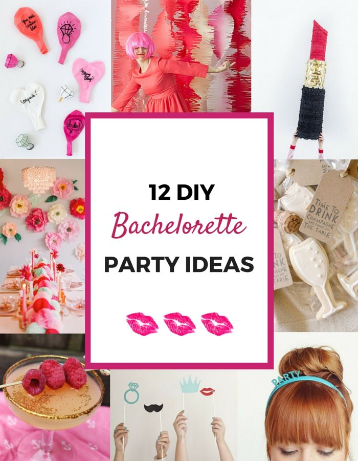 12 Awesome DIY Bachelorette Party Ideas