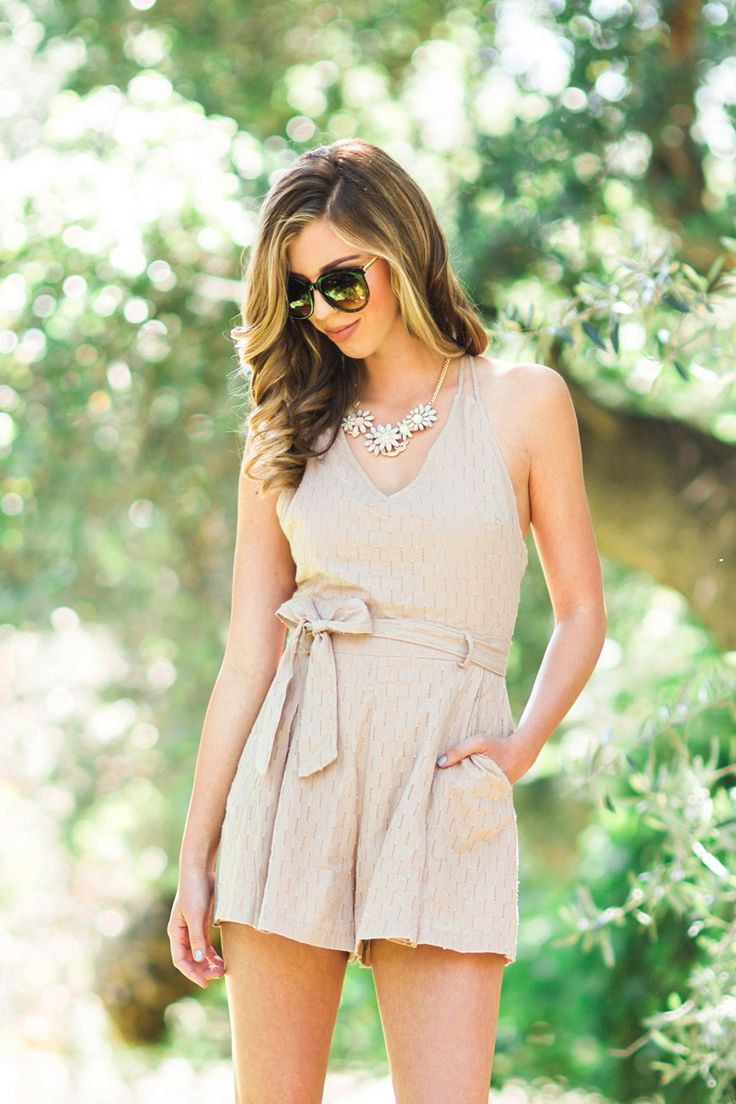 Spring Rompers, Spring Outfit Inspiration, Cute Outfits for Women