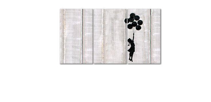 La toile imprimée Banksy No 3