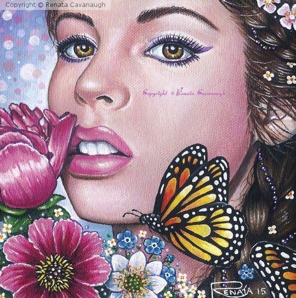 Seasons of Fairy - SUMMER by Renata Cavanaugh on ARTwanted
