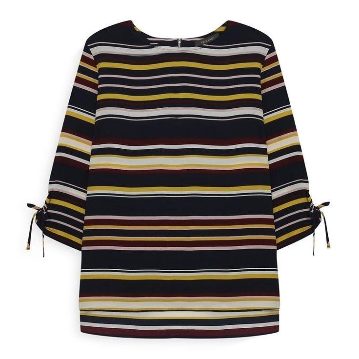 Camisa de rayas para mujer  Categoría:#camisas_mujer #primark_mujer #ropa_de_mujer en #PRIMARK #PRIMANIA #primarkespaña  Más detalles en: http://ift.tt/2pXtGUK