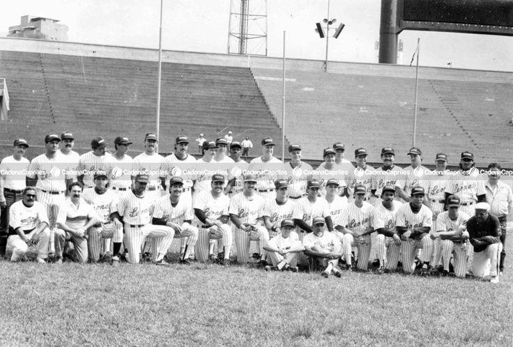 Equipo de Los Leones del Caracas de la Serie del Caribe 1990: Archivo Fotográfico/Cadena Capriles