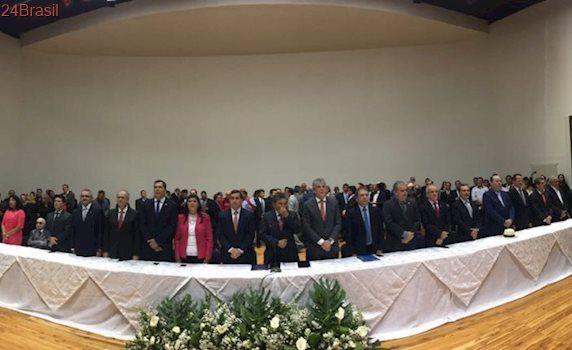 Casa cheia na posse de Gervásio mostra potencial do parlamentar para disputar Governo em 2018
