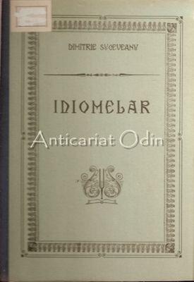 Idiomelar. Partea Intaia - Dimitrie Suceveanu