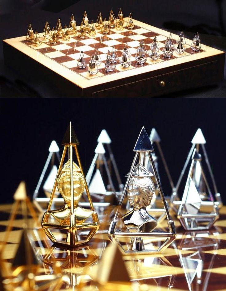 Драгоценные шахматы за 5 млн долларов от Charles Hollander
