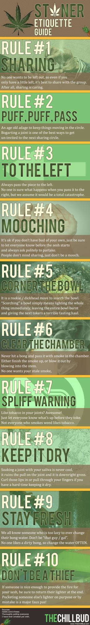 The Complete Stoner Etiquette Guide