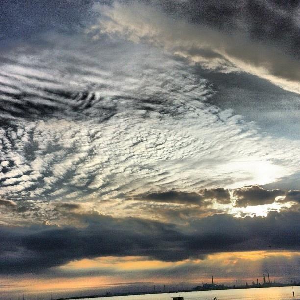 #marghera #sky #tramonto #cielo #sunset