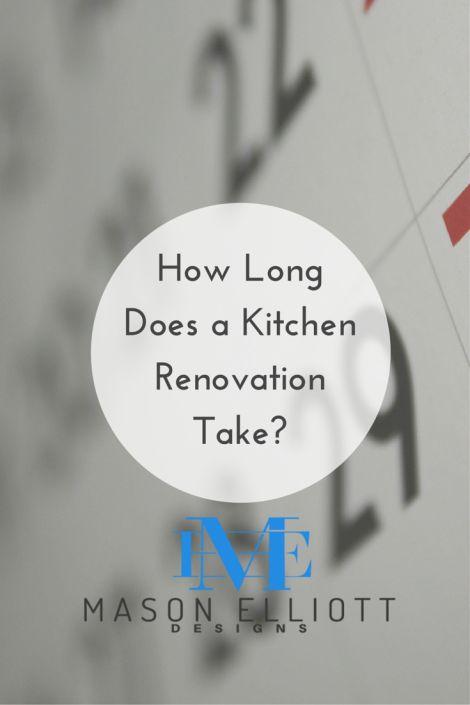 How Long Does A Kitchen Renovation Take?