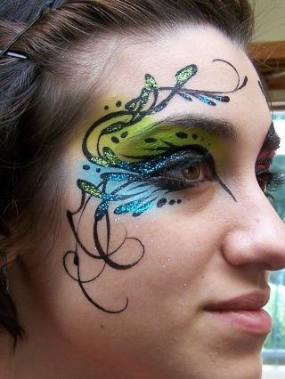 Yes please.: Eye Makeup, Animal Paintings, Colorguard Makeup, Faces Paintings, Beautiful Ideas, Faces Makeup, Makeup Ideas, Colors Guard Make Up, Halloween Ideas