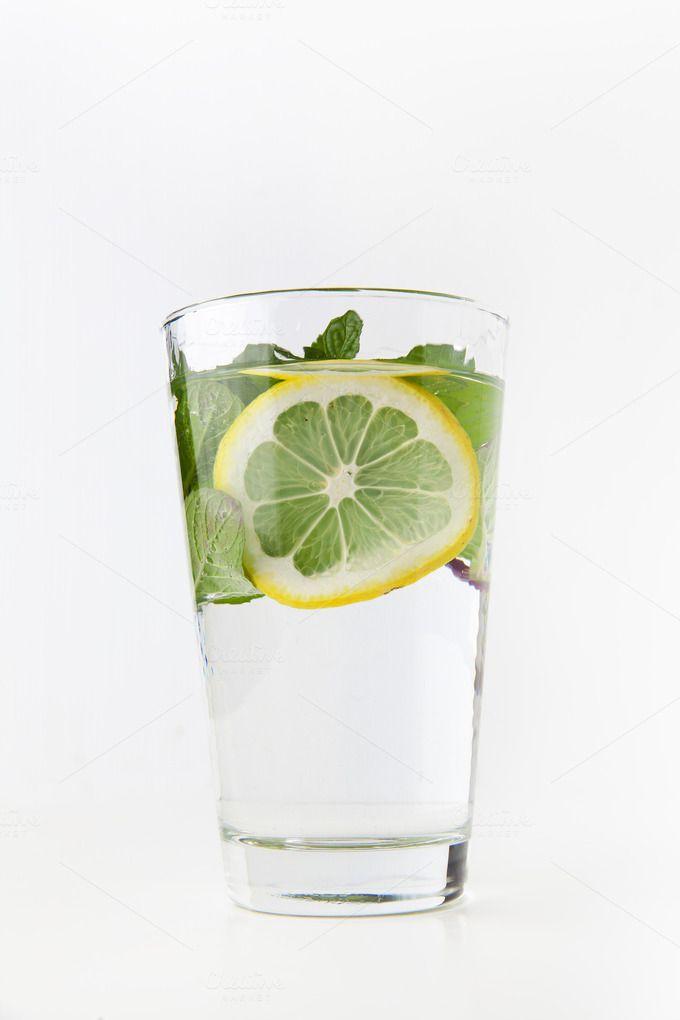 lemonade with  mint by IriGri on @creativemarket