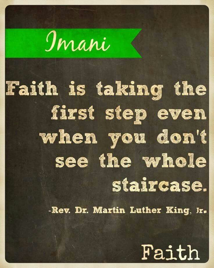 Kwanzaa day 7: Imani