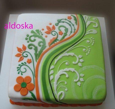 DORTY A SLADKOSTI aneb PEČEME S LÁSKOU - Fotoalbum - -MOJE PEČENÍ- - MOJE DORTY - My cakes - Pro mou kamarádku Heťu k 55. narozeninám