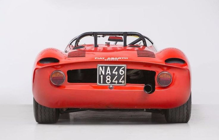 1966 FIAT-ABARTH 1000SP TIPO SE04 RACING SPORTS-PROTOTYPE