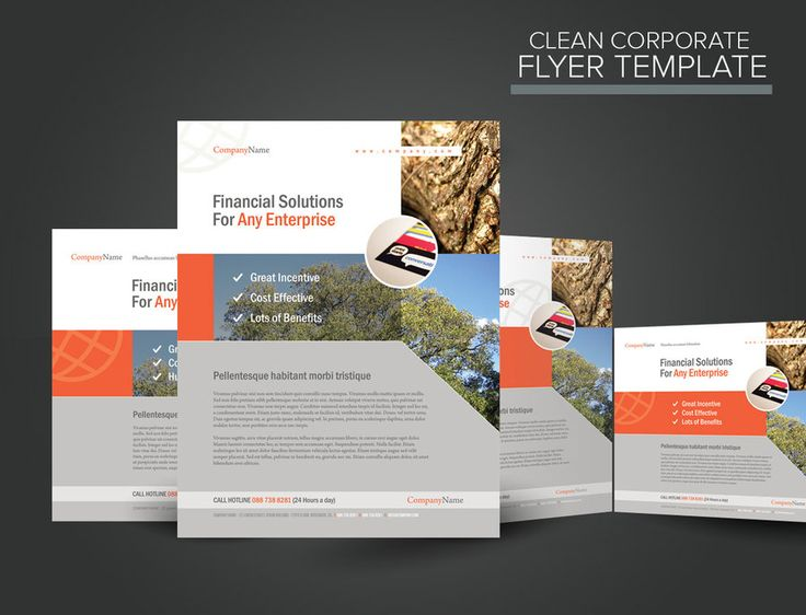 20 best images about corporate flyer designs on pinterest creative flyers creative and flyer - Corporate flyer inspiration ...