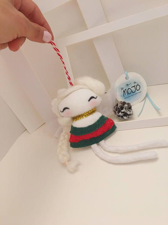 Christmas ornament / fairy doll / handmade doll / baby mobile