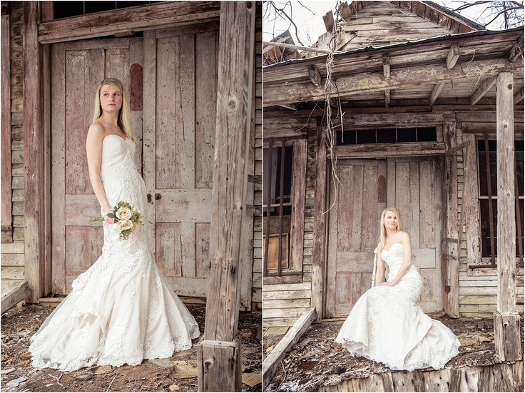 bride in snow knoxville wedding photographers