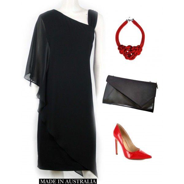 Wangari Asymmetric Elegant Dress