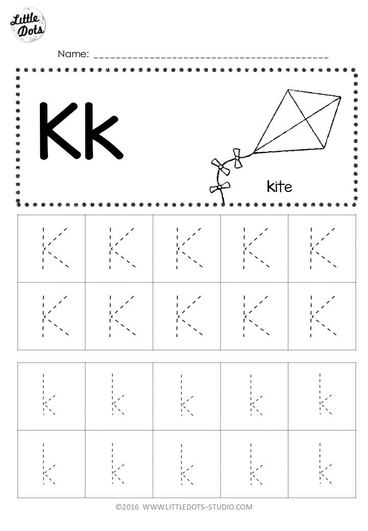 Free Letter K Tracing Worksheets Tracing Worksheets Preschool Alphabet Tracing Worksheets Tracing Worksheets