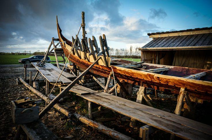 Kerteminde, Viking Museum, Ladby, Viking Ship