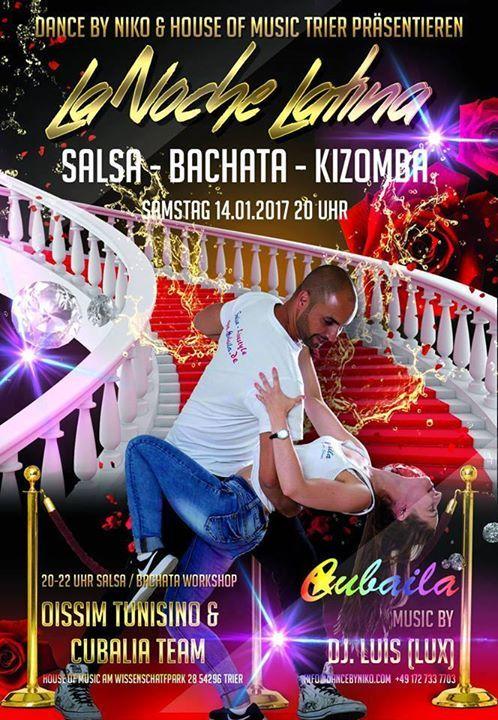 #Familie #in #Trier  #Es #ist  #eine #grosse #Freude #euch #wieder #alle... #Salsa #Familie #in Trier: #Es #ist  #eine #grosse #Freude #euch #wieder #alle #zu #sehen, #mit #euch #zu #Tanzen #und #zu #feiern ;-) #Wir erwarten #euch #mit 2 Workshops: 20-21 Uhr: #Salsa Cubana 21-22 Uhr: #Bachata #Workshops #Ab 22 #Uhr #ist #Party #Time #mit #Dj Luis Alcala  #Salsa #Saarbruecken & #Saarland | #Familie #in Trier: #Es http://saar.city/?p=38794