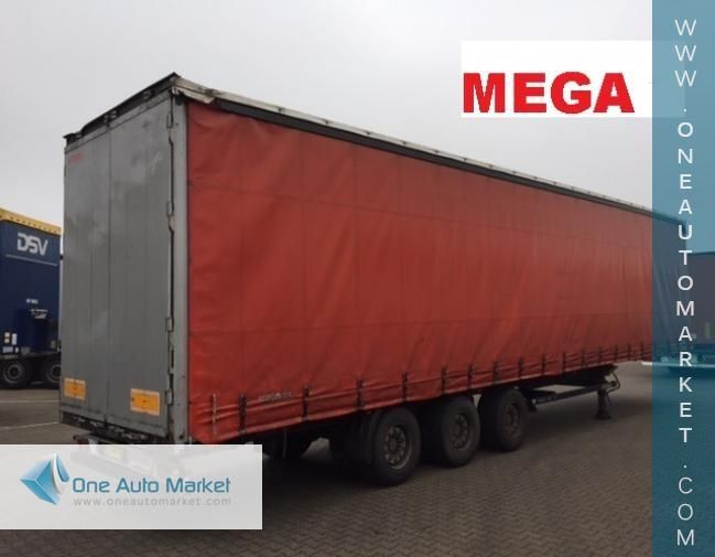 2012 Other Curtainsider Mega Semi Trailer For Sale | Used | Venlo Netherlands | One Auto Market