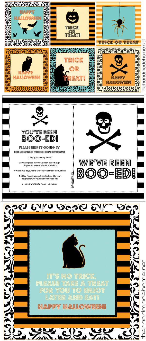halloween printables - free ideas