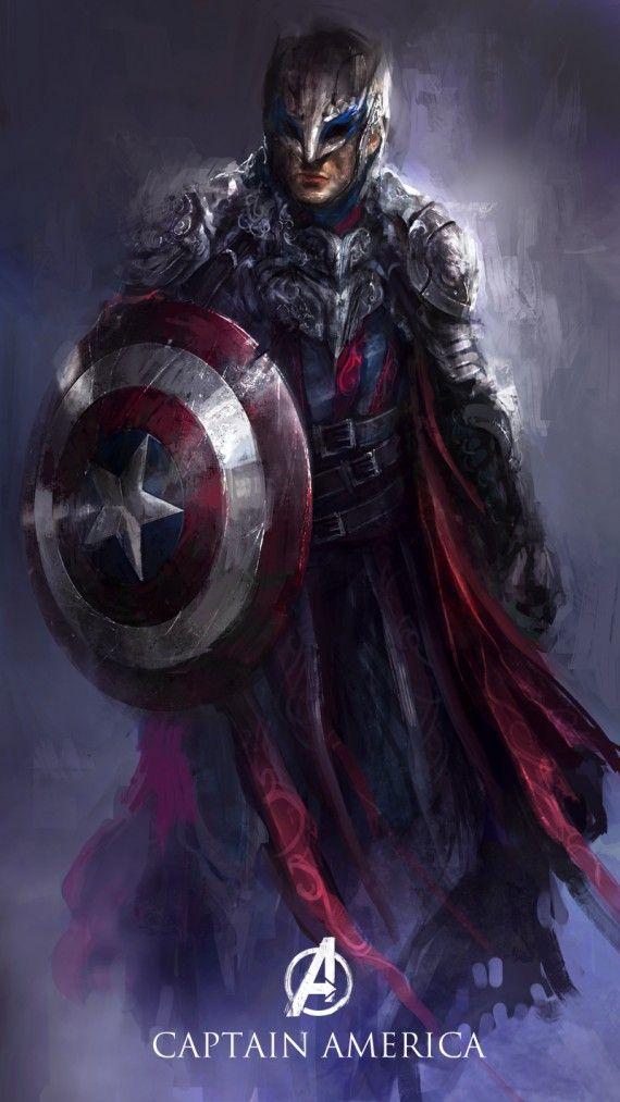 Si les Avengers étaient des personnages d'Heroic Fantasy
