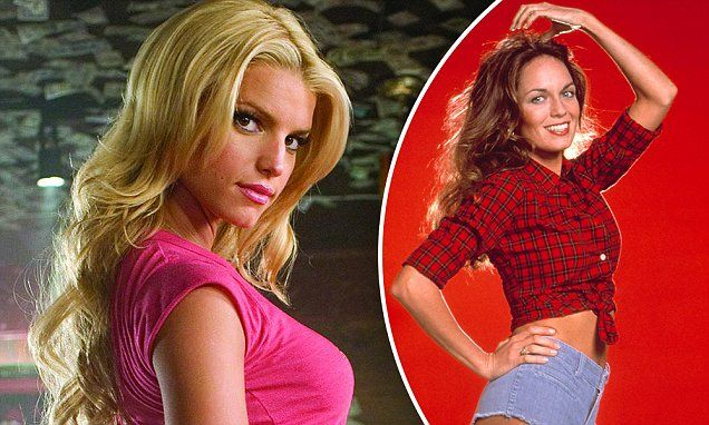 Jessica Simpson cannot compete with the original Daisy Duke