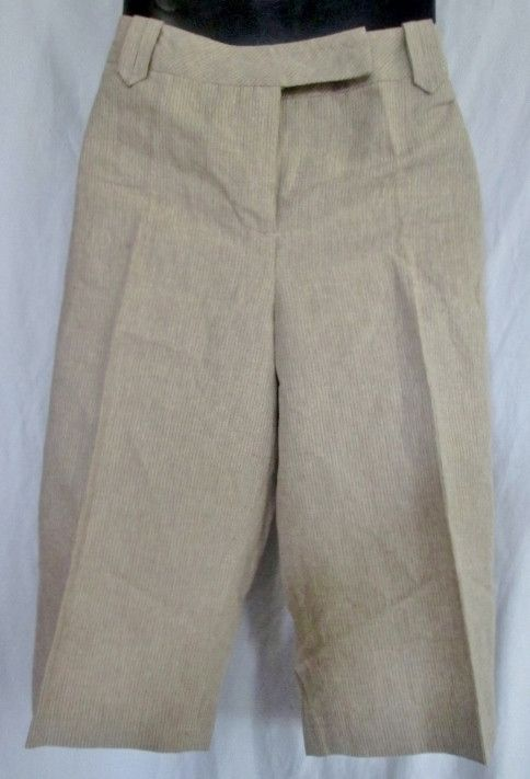 NEW Womens AXCESS NATURAL OASIS Shorts 12 Spring Summer BEIGE TAN