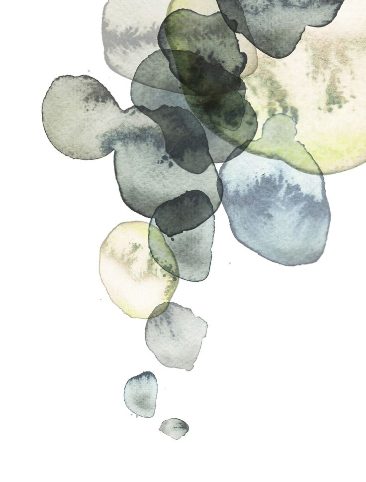 The balance & the negative space here. Wow! Karin Meyn | Painted spots, overflowing