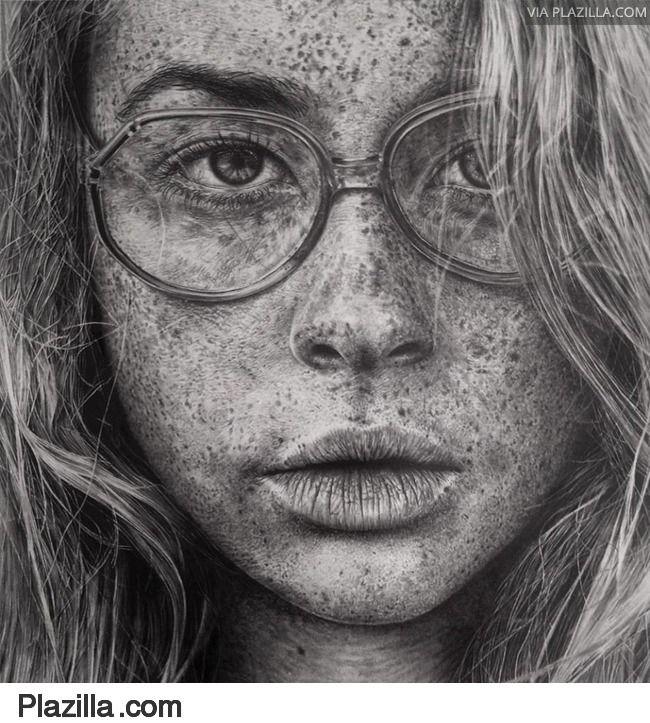 De Maleise kunstenares Monica Lee maakt verbluffende grafiettekeningen - Plazilla.com