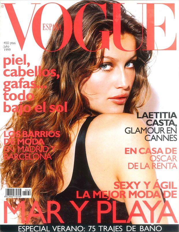 Laetitia Casta by André Rau Vogue España July 1999