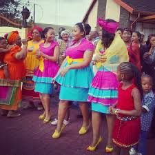tsonga traditional wedding dresses images - Google Search