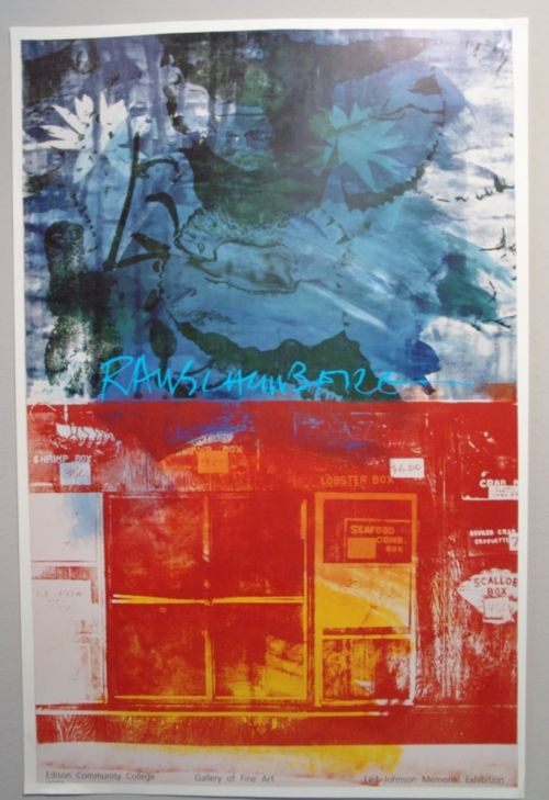 Bob Rauschenberg posters and prints