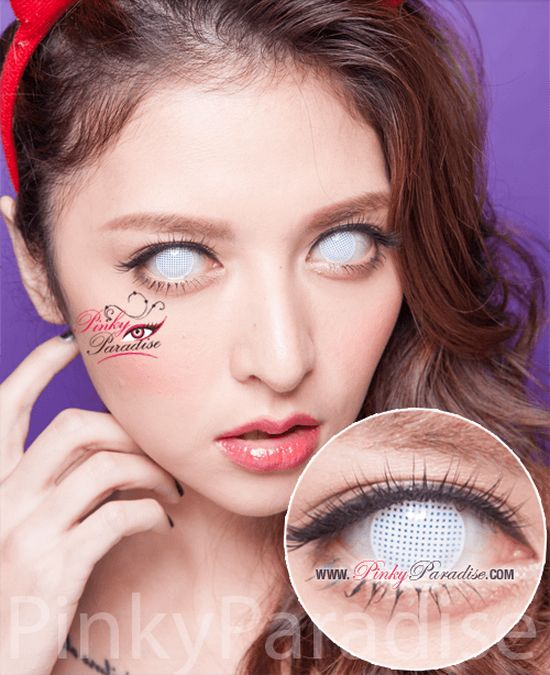 White Mesh Eye Contacts Www Pixshark Com Images