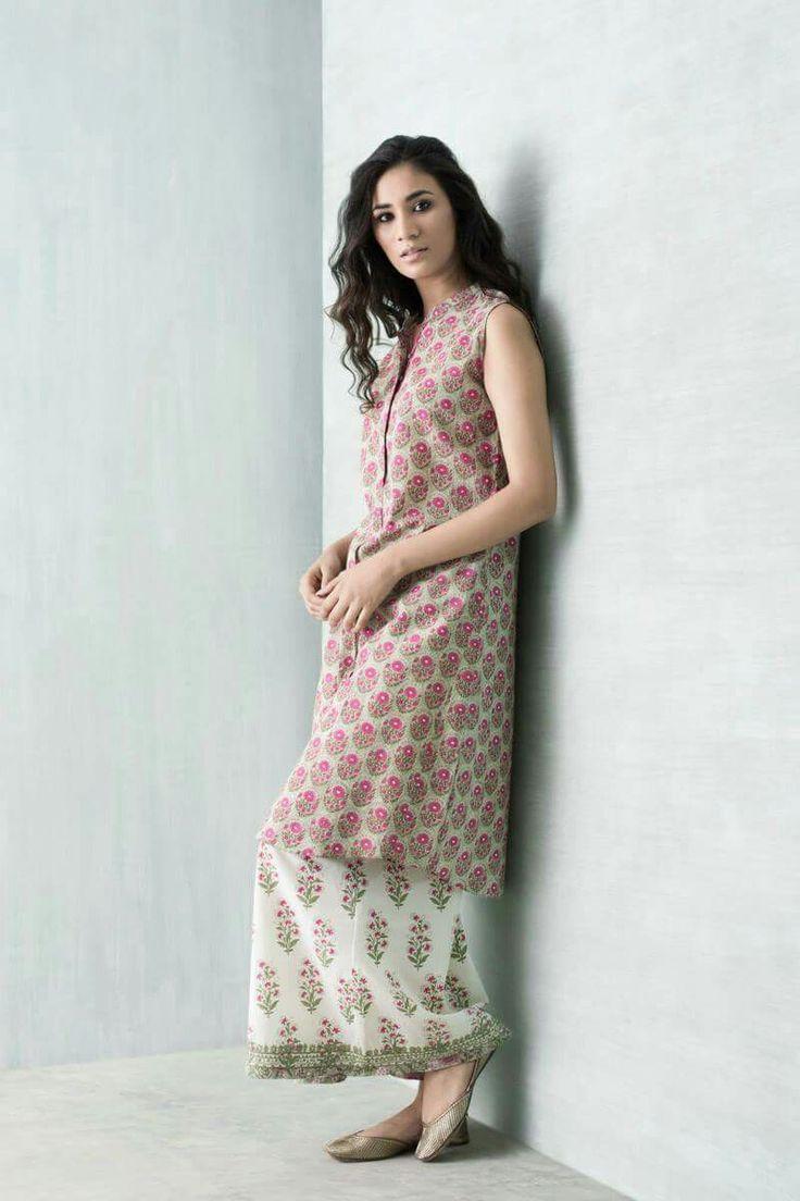 Long Kurta #contemporary-indian-fashion #contemporary-pakistani-style #desi-style-everyday