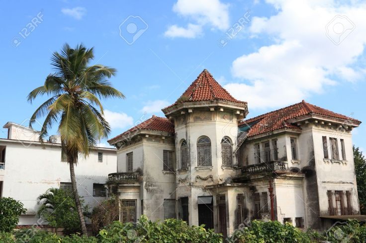 Old Abandoned House In Havana, Cuba Stock Photo, Picture And ...