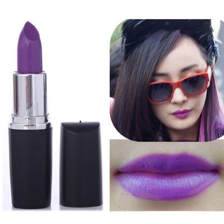 Maquiagem Batom Matte Band Makeup Vampire Dark Red Lip Tattoo Cosmetic Purple Waterproof Matte Lipstick Lot labiales matte